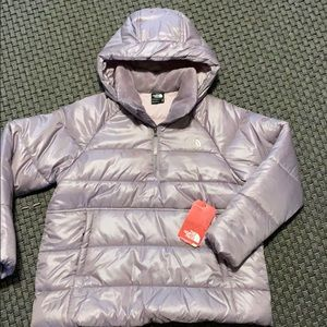 North Face NWT puffy pullover jacket girls size XL